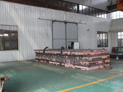 铸铁平台半成品