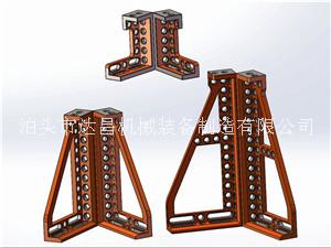 D16-400型支撑角铁/三角形支撑角铁/球铁支撑角铁